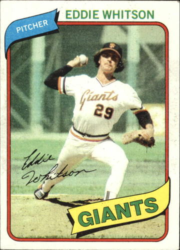 Photo of 1980 Topps #561 Eddie Whitson