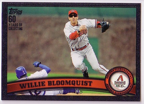Photo of 2011 Topps Update Black #US137 Willie Bloomquist