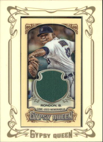Photo of 2014 Topps Gypsy Queen Framed Mini Relics #GMRBR Bruce Rondon