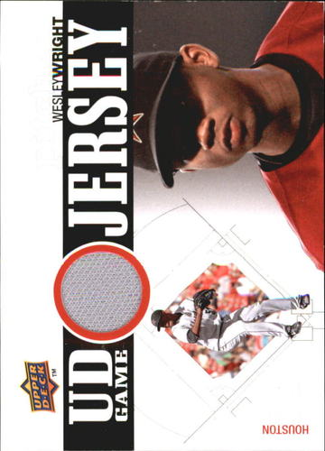 Photo of 2010 Upper Deck UD Game Jersey #WW Wesley Wright