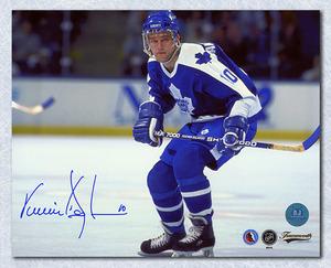 Vincent Damphousse Toronto Maple Leafs Autographed 8x10 Photo