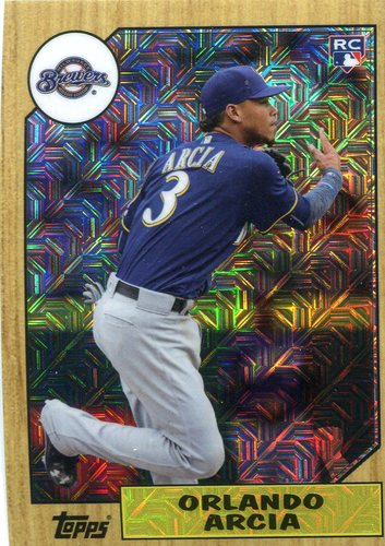 Photo of 2017 Topps '87 Topps Silver Pack Chrome #87OA Orlando Arcia