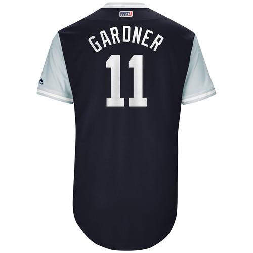"Photo of Brett ""Gardner"" Gardner New York Yankees Game-Used Players Weekend Jersey"
