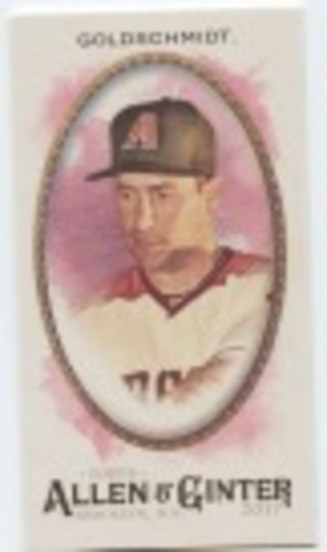 Photo of 2017 Topps Allen and Ginter Mini #125 Paul Goldschmidt