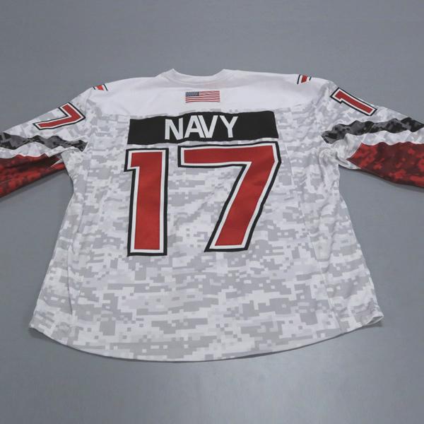 Ohio State Ice Hockey Military Appreciation Jersey #17