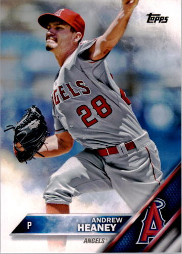 Photo of 2016 Topps #164 Andrew Heaney