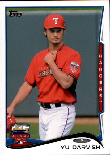 Photo of 2014 Topps Update #US154 Yu Darvish