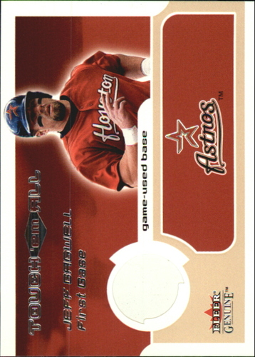 Photo of 2002 Fleer Genuine Touch Em All Game Base #17 Jeff Bagwell