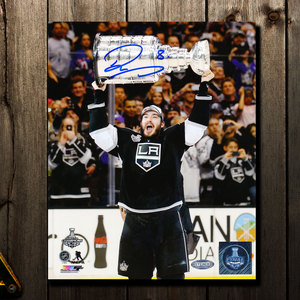Drew Doughty Los Angeles Kings 2014 STANLEY CUP Autographed 8x10