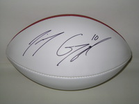 NFL - PATRIOTS JIMMY GAROPPOLO SIGNED PANEL BALL