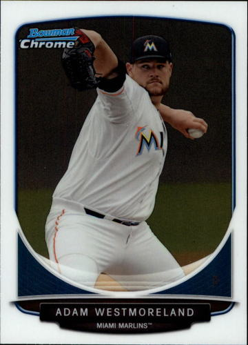 Photo of 2013 Bowman Chrome Draft Draft Picks #BDPP122 Adam Westmoreland