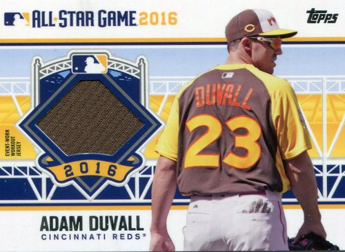 Photo of 2016 Topps Update All-Star Stitches #ASTITAD Adam Duvall