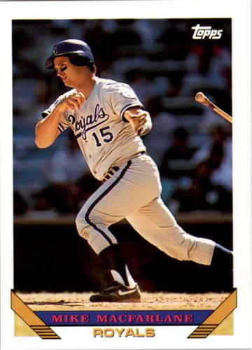Photo of 1993 Topps #768 Mike Macfarlane