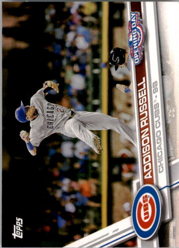 Photo of 2017 Topps Opening Day #86A Addison Russell