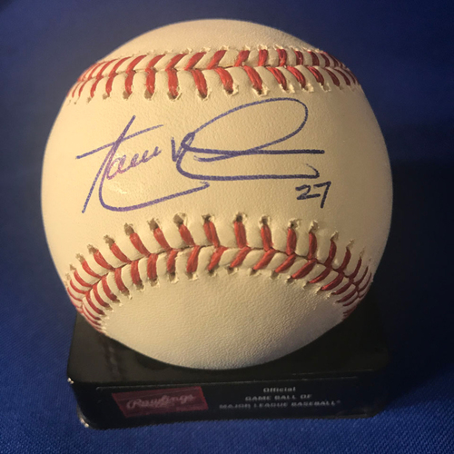 Photo of UMPS CARE AUCTION: Aaron Nola Signed Baseball
