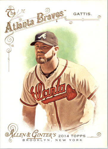 Photo of 2014 Topps Allen and Ginter #219 Evan Gattis