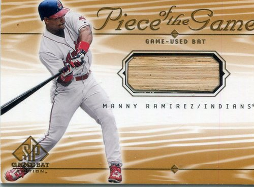 Photo of 2001 SP Game Bat Edition Piece of the Game #MR Manny Ramirez