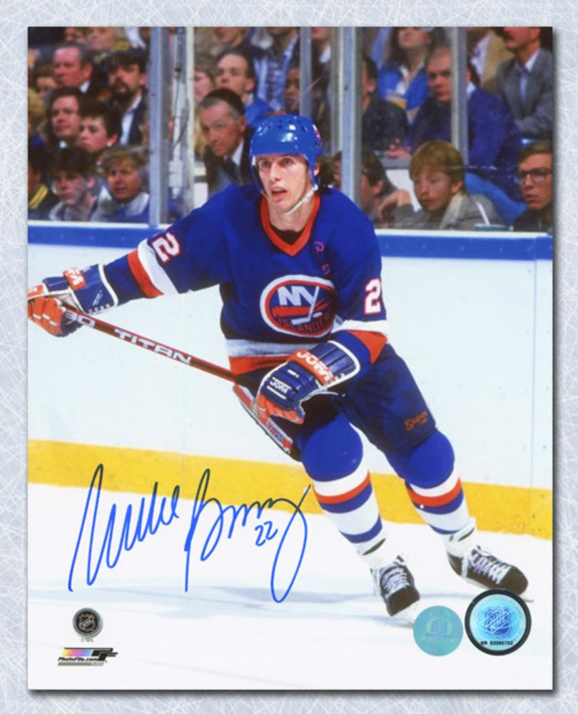 Mike Bossy New York Islanders Autographed Hockey Captain 8x10 Photo