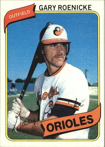 Photo of 1980 Topps #568 Gary Roenicke RC