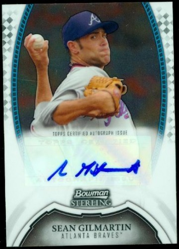 Photo of 2011 Bowman Sterling Prospect Autographs #SGI Sean Gilmartin