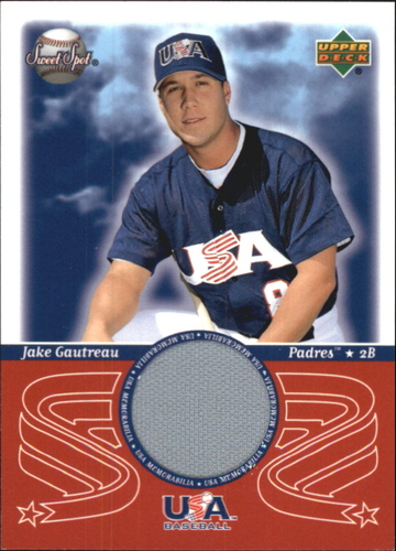 Photo of 2002 Sweet Spot USA Jerseys #JG Jake Gautreau