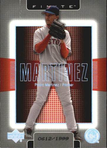 Photo of 2003 Upper Deck Finite #18 Pedro Martinez