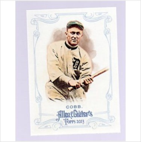 Photo of 2013 Topps Allen and Ginter #4 Ty Cobb