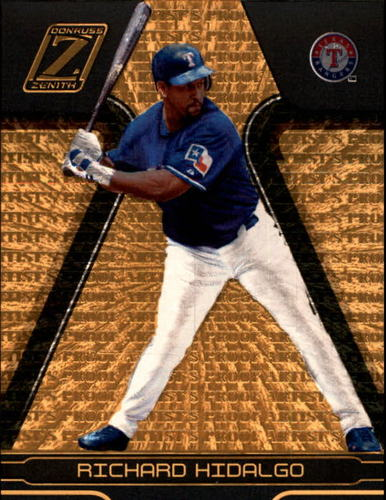 Photo of 2005 Zenith Artist's Proofs Gold #174 Richard Hidalgo /50