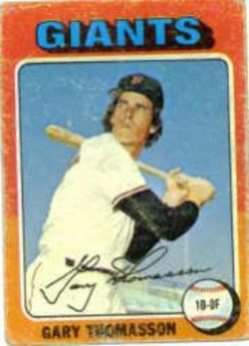Photo of 1975 Topps #529 Gary Thomasson