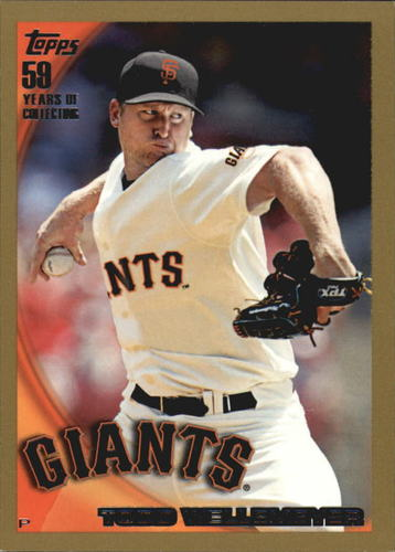 Photo of 2010 Topps Gold Border #458 Todd Wellemeyer