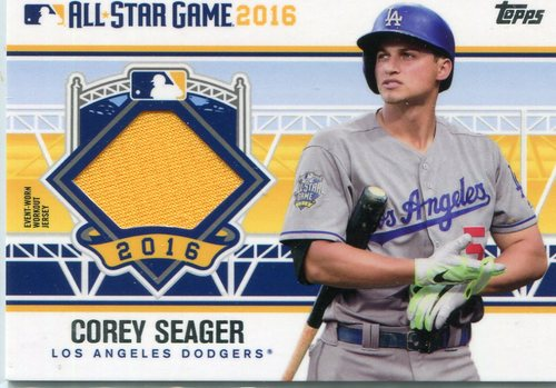 Photo of 2016 Topps Update All-Star Stitches #ASTITCS Corey Seager