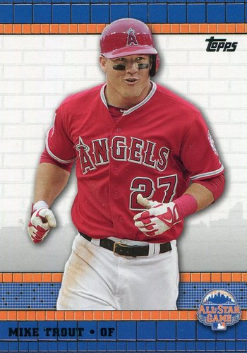 Photo of 2013 Topps All-Star FanFest #WR5 Mike Trout