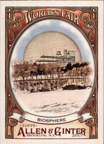 Photo of 2017 Topps Allen and Ginter World's Fair #WF16 Biosphere/Expo 67