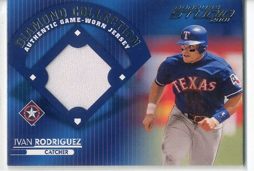 Photo of 2001 Studio Diamond Collection #DC20 Ivan Rodriguez