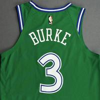 Trey Burke  -  Dallas Mavericks  -  Classic Edition(1981-90首页制服)泽西 - 圣诞节'20