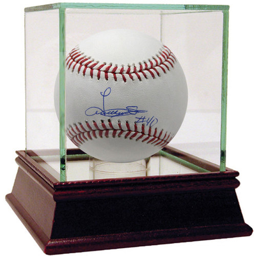 Photo of Luis Severino Autographed MLB Baseball - Case Not Included