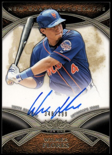Photo of 2014 Topps Tier One New Guard Autographs #NGAWFL Wilmer Flores/399
