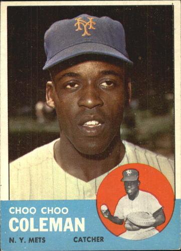 Photo of 1963 Topps #27 Choo Choo Coleman