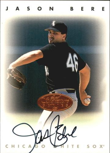 Photo of 1996 Leaf Signature Autographs #23 Jason Bere