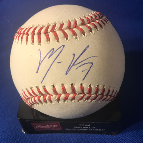 Photo of UMPS CARE AUCTION: Maikel Franco Signed Baseball
