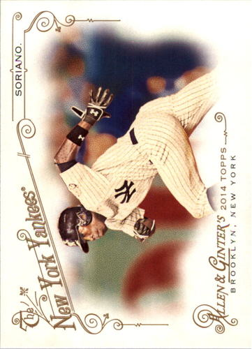 Photo of 2014 Topps Allen and Ginter #263 Alfonso Soriano