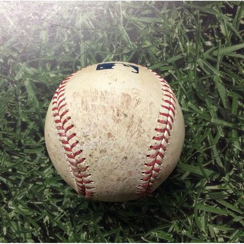 Game-Used Baseball 07/05/17 BAL@MIL - Matt Garza to Trey Mancini: Single