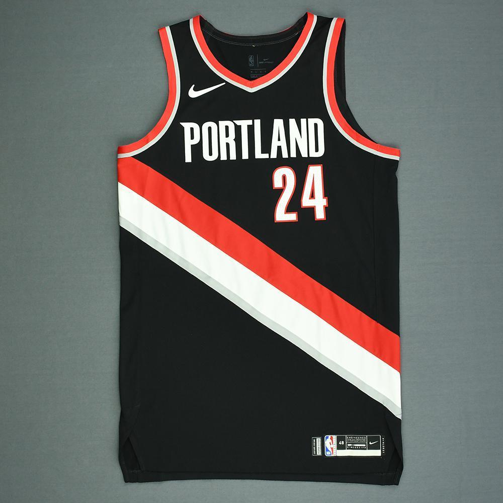 Anfernee Simons - Portland Trail Blazers - 2018 NBA Draft - Autographed Jersey
