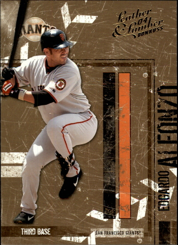 Photo of 2004 Leather and Lumber Gold #125 Edgardo Alfonzo