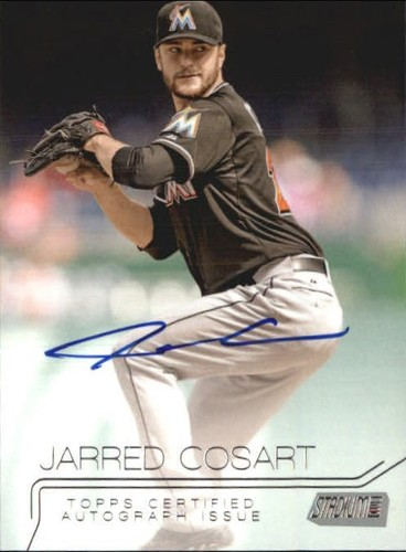 Photo of 2015 Stadium Club Autographs #SCAJC Jarred Cosart