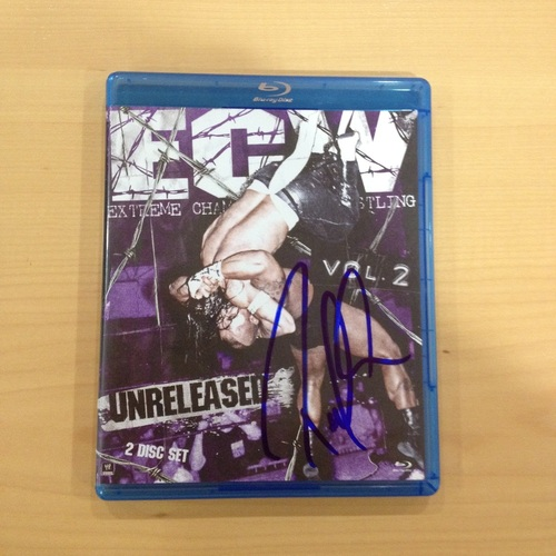 Paul Heyman SIGNED copy of ECW: Unreleased Vol. 2 Blu-ray