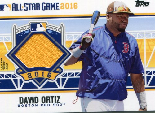 Photo of 2016 Topps Update All-Star Stitches #ASTITDO David Ortiz