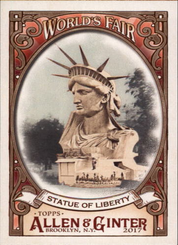 Photo of 2017 Topps Allen and Ginter World's Fair #WF17 Statue of Liberty/Exposition Universelle