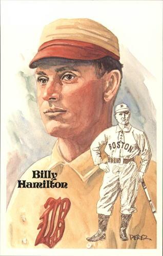 Photo of 1980-02 Perez-Steele Hall of Fame Postcards #86 Billy Hamilton -- Set #08689