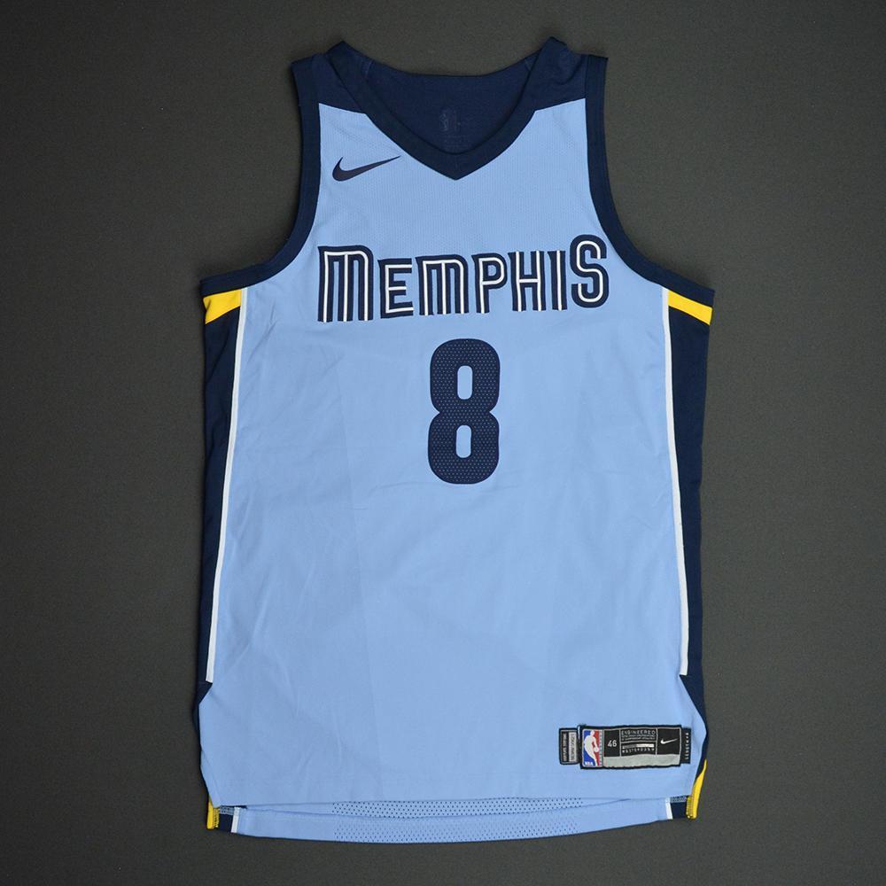 James Ennis III - Memphis Grizzlies - Statement Game-Worn Jersey  - 2017-18 Season